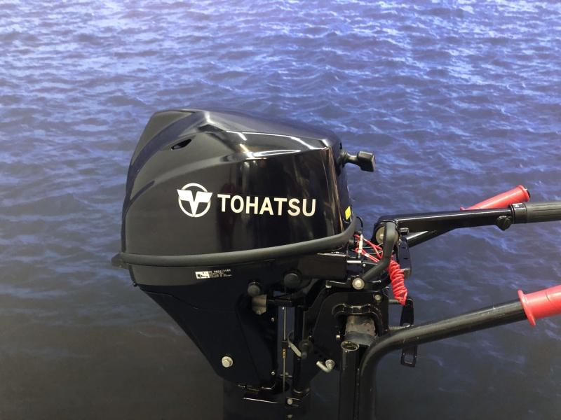 Buitenboordmotor  9.8 Tohatsu Lang en kortstaart afstandsbediening