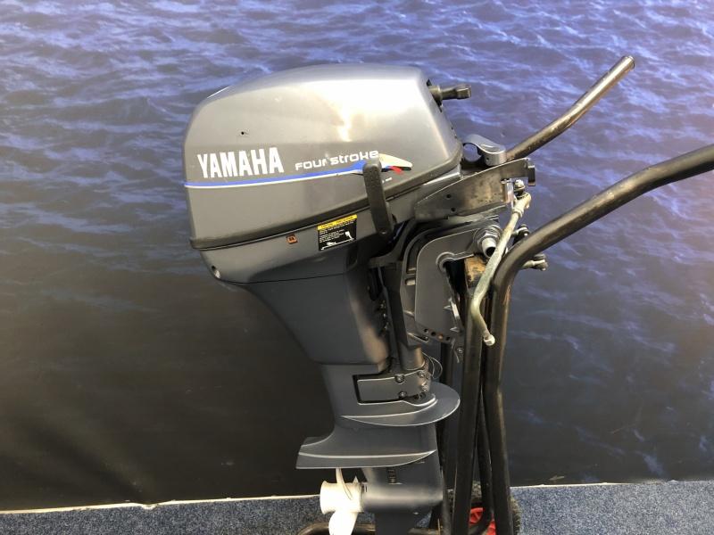 Yamaha 6 pk Kortstaart met afstandsbediening