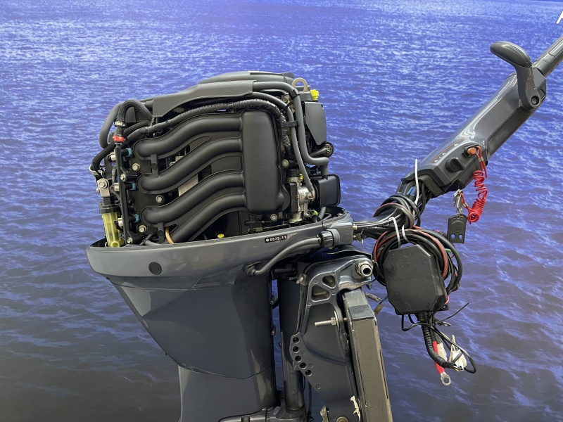 Yamaha 60 pk buitenboordmotor F60 CETL met big tiller