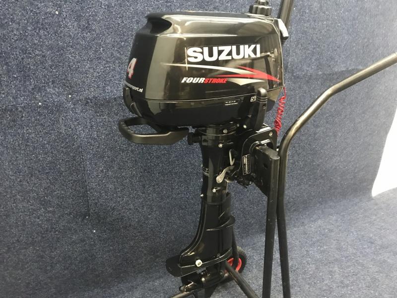 Suzuki buitenboord motor 4pk kortstaart