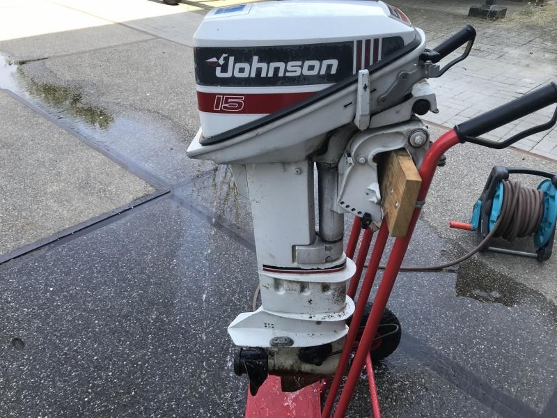 Tweedehands Johnson 15 pk