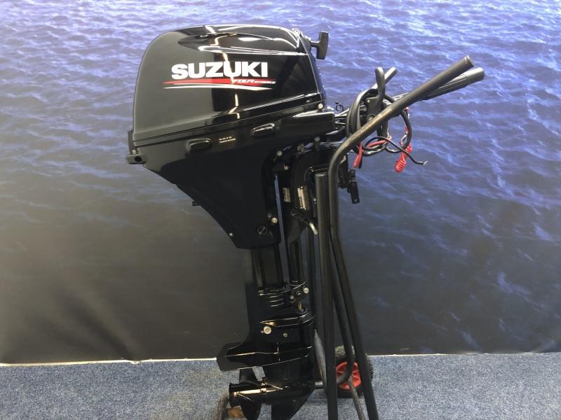 Suzuki 20 pk buitenboordmotor Langstaart knuppel el start!!!
