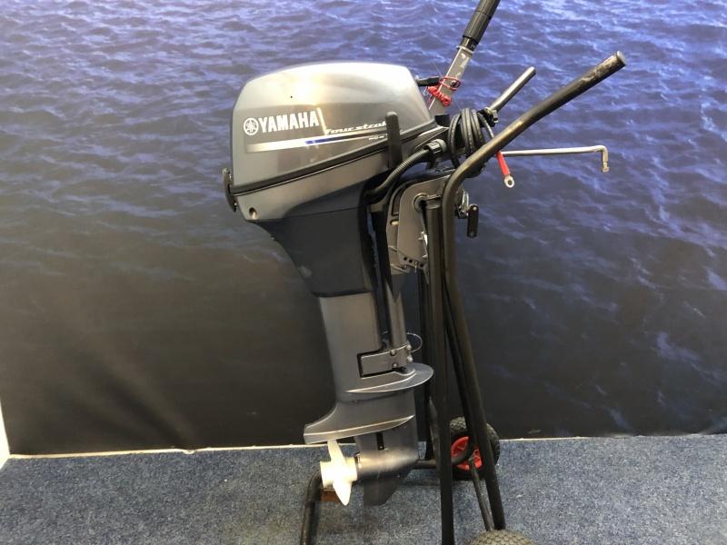 Yamaha 8pk Langstaart met afstandsbediening