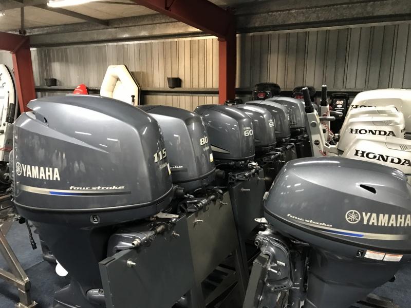 Yamaha 100 pk buitenboordmotor F80 BETL