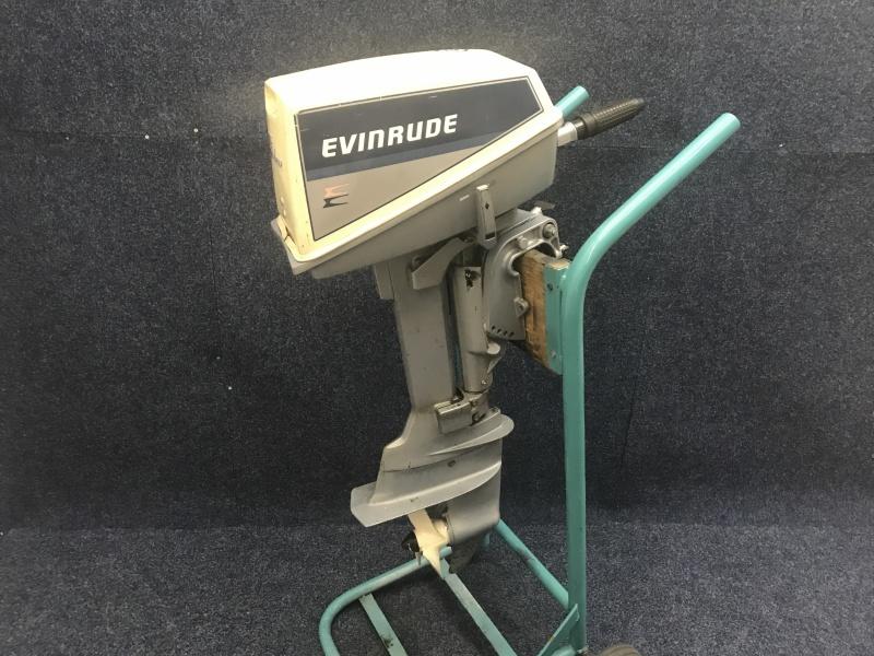 Evinrude 4 pk kortstaart 2 cilinder !!