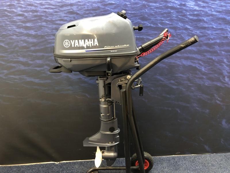 Yamaha 4 pk kortstaart Demo 5 vaaruren