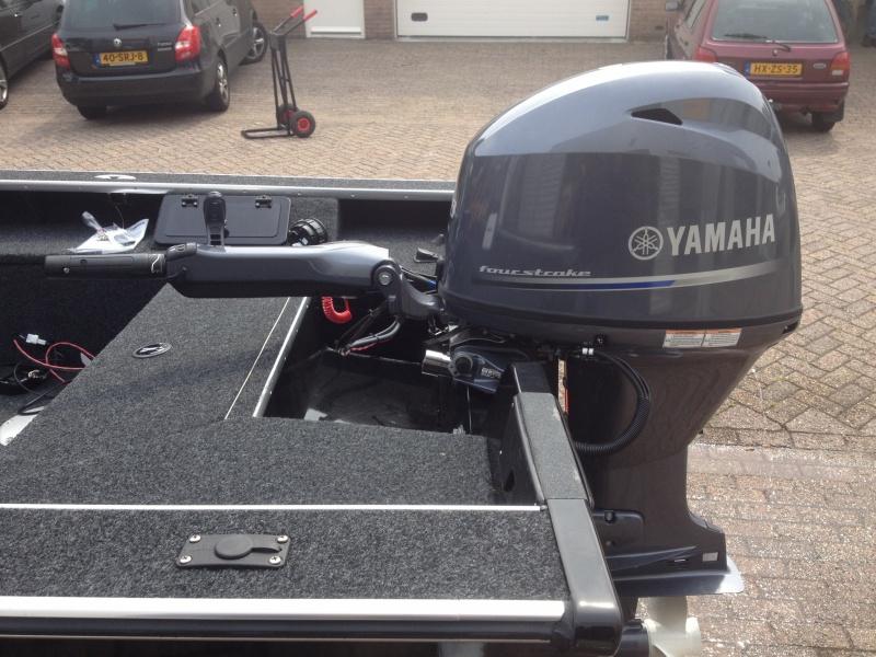 Yamaha F60 Langstaart elektrische start powertrim  dikke knuppel