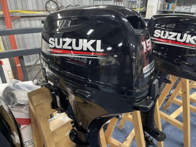 Suzuki buitenboordmotor 15 pk ARS kortstaart afstandsbediening
