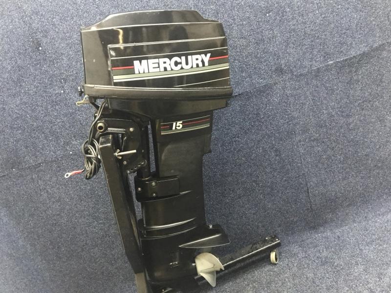 Mercury buitenboordmotor 15  pk  langstaart el start Afstandsbediening