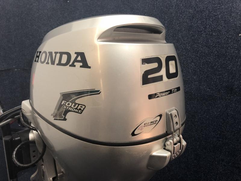 Honda 20 pk langstaart afstandbediend elektrisch gestart powertilt