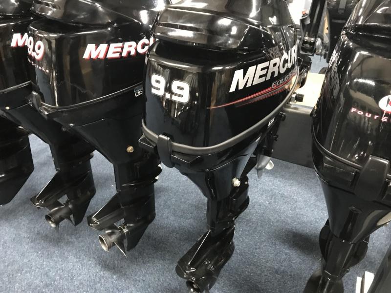 Mercury 9,9 pk langstaart elektrische start afstand bediend