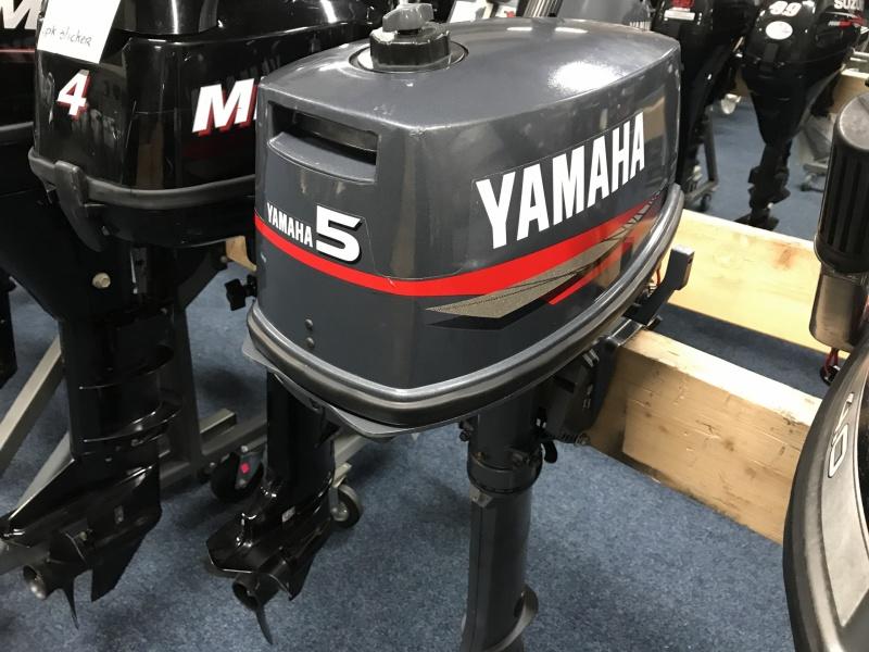 Yamaha 5pk 2 takt  langstaart