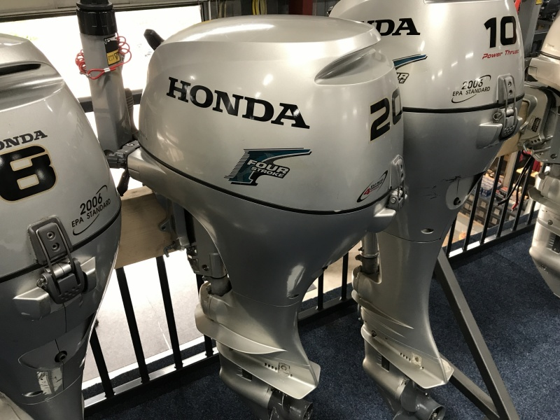 Honda 20pk kortstaart
