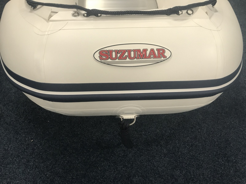 A Rubberboot Suzumar 290 Aluminium vlonderbodem nieuwe boot
