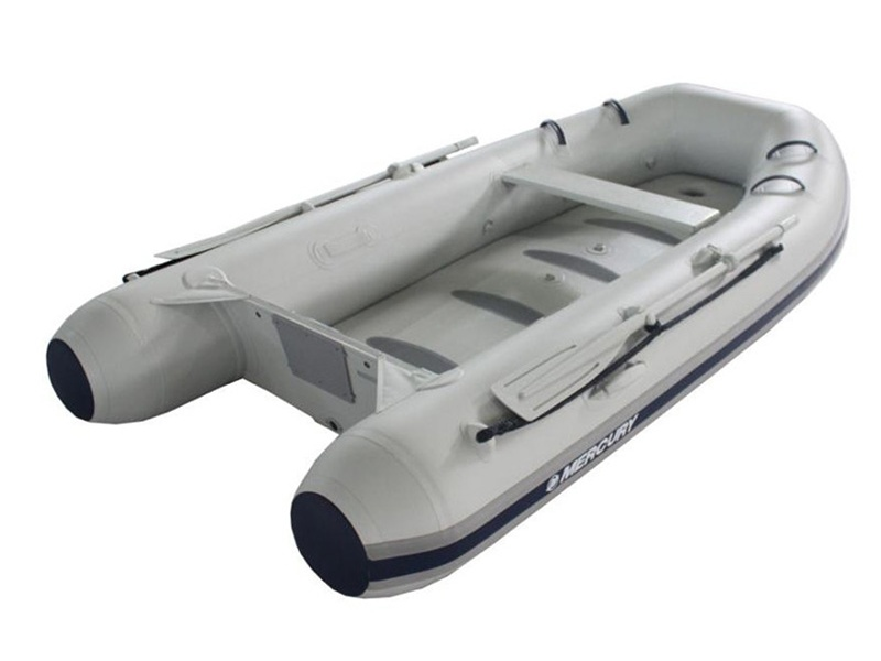 Rubberboot Mercury Air Deck Deluxe 290