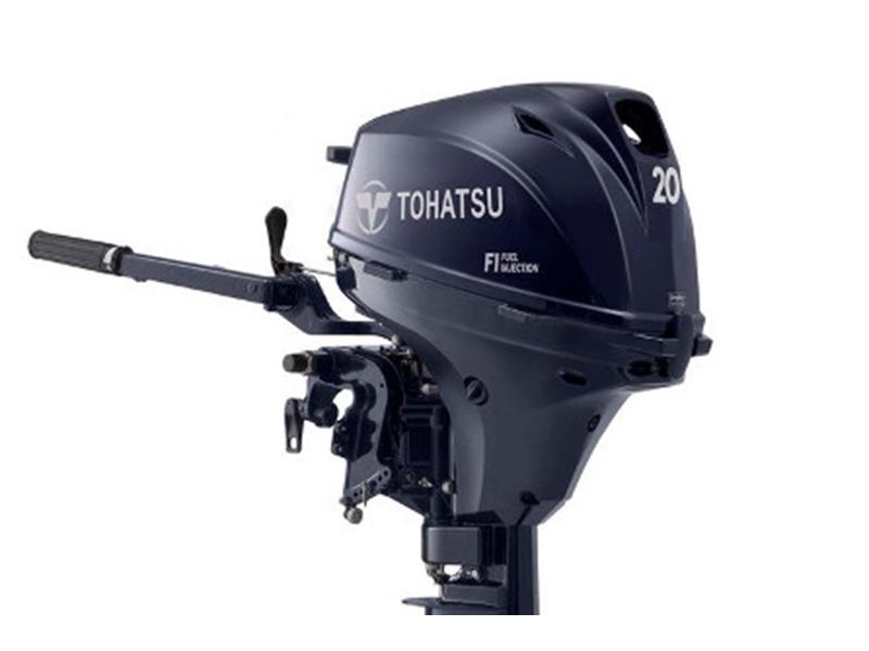 Buitenboordmotor Tohatsu MFS 20 E